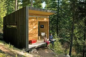 signal shed diy cabin in the woods time to build