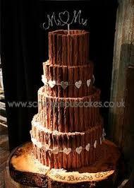 3 kinds of chocolate wedding cake cake by lucya chocolate