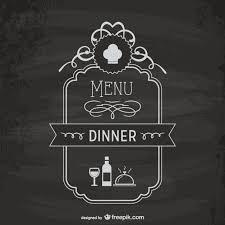 menu board template vector free download