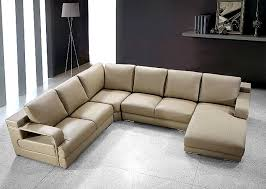 Beige Sectional Sofas Beige Sectional Sofa Vg454 Leather Sectionals