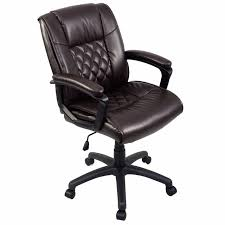 ergonomic computer desk chair goplus ergonomic pu leather mid back executive gaming chair computer