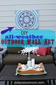 make all weather outdoor wall dollar store
