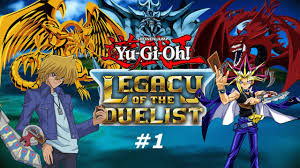 yu gi oh legacy of the duelist part 1 ps4 gameplay 1080p