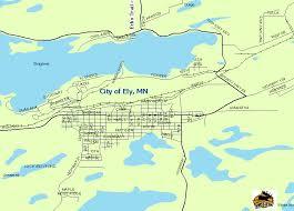minnesota on map bwca com ely minnesota map boundary waters