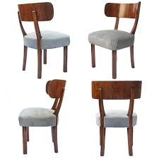 Black Lacquer Dining Room Chairs by Art Deco Dining Room Art Deco Dining Table From William Switzer