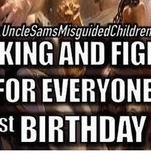 Food St Memes - uncle samsmisguidedchildren king and figi or everyone st birthday