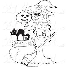 halloween witch clipart black and white u2013 festival collections