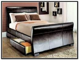 King Size Bed Frame With Storage Underneath King Size Bed Frame With Storage Southbaynorton Interior Home