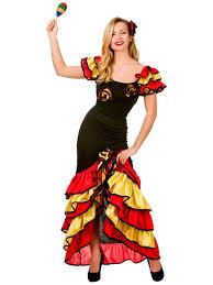 eighties halloween costumes spanish senorita rumba salsa flamenco dancer dance ladies fancy
