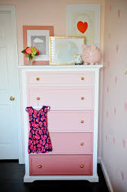 diy bedroom decorating ideas for teens diy ombre dresser tutorial project nursery