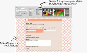 customize your own create customized forms with your own branding emailmeform