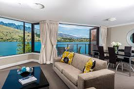 Hotel Rooms With Living Rooms by Oaks Shores Official Website Queenstown Resort