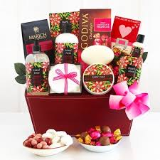 valentines baskets tiare spa valentines gift basket gift baskets plus