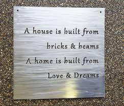 personalized signs for home decorating custom 18 metal sign your own quote or words
