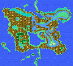Final Fantasy World Map by Old Timey Games Final Fantasy I Dawn Of Souls Extras