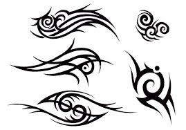 awesome small tribal tattoos design