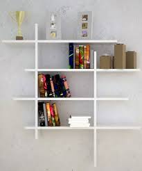 modern contemporary wall mounted bookshelves ideas bookshelf