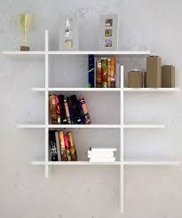 contemporary wall shelving modern contemporary wall mounted bookshelves ideas bookshelf