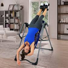 inversion table 500 lbs capacity teeter ep 860 ltd inversion table with better back accessories