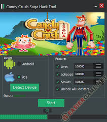 crush saga hack tool apk unlimited lives lolipops unlock all boosters in