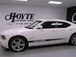 used white dodge charger used 2009 dodge charger r t daytona gainesville tx