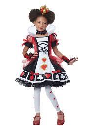 Kids Girls Halloween Costumes Queen Hearts Girls Costume Movie Costumes