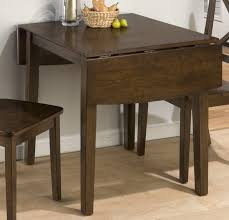 Drop Leaf Bistro Table Fascinating Drop Leaf Bistro Table Jofran Cherry 30x30
