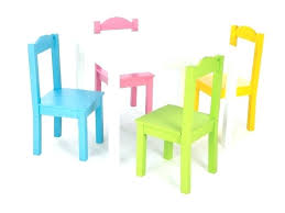 american kids 5 piece wood table and chair set kids plastic table and chairs highlight 5 piece natural primary kids