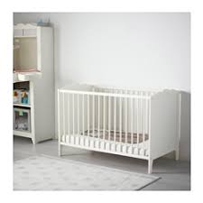 hensvik lit bébé blanc 60x120 cm ikea