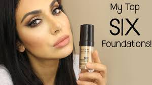 requested my top 6 foundations video huda beauty makeup