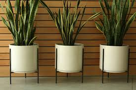 modern ceramic planter home design styles