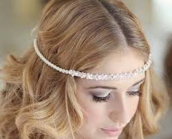 hair chains 58 wedding hair chain bridal 3 tier gold chain pearl hair chain