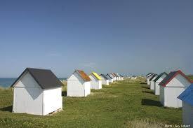 chambre d hote gouville sur mer plage des cabines de bain de gouville sur mer coutances tourisme