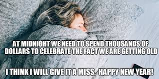 Happy New Year Funny Meme - happy new year asleep imgflip