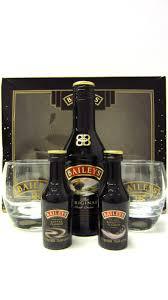 baileys gift set buy whisky liqueurs baileys 3 x miniatures glasses gift set