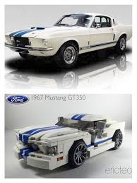 lego ford mustang 1967 ford mustang gt350 a modified version of my mustang builds