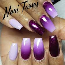 25 cool matte nail designs to copy in 2017 coffin nails purple