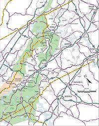 Map Nc Great Smoky Mountains National Park Nc Map