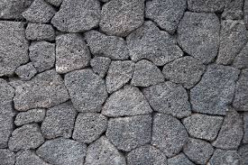 Grey Tiles Grey Tiles Volcanic Stone Texture And Background Stock Photo