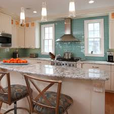 white kitchen cabinets with aqua backsplash aqua tile backsplash houzz