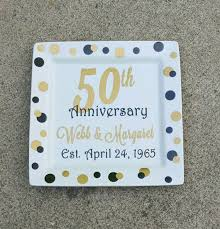50th anniversary plate personalized 18 best herb and cheryl s 50th anniversary images on