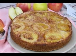 apple upside down cake so soft and moist it is perfect to serve