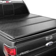 Folding Bed Cover Hs Power Tri Fold Solid Tonneau Cover Tool Bag 14 16