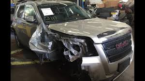 Side Curtain Airbag Replacement Cost 2015 Gmc Terrain Right Front Hit With Air Bag Deployment Time