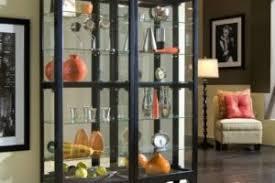 Pulaski Curio Cabinet Used Pulaski Coaster Wall Glass Corner Curio Cabinets For Sale