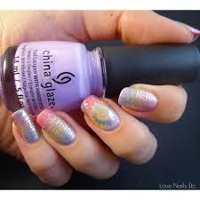 pastel tribal nail art u2013 500 nail designs by chelsea franklin