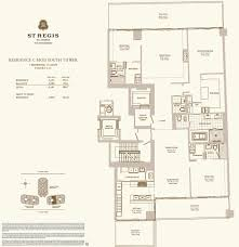 Palm Harbor Floor Plans by St Regis Bal Harbour U2013 Floor Plans St Regis Bal Harbour