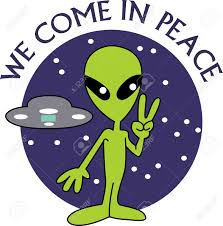 peace sign from the aliens get your designs from great