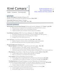 profile resume profile