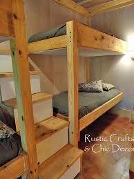DIY Double Bunk Bed Design Hometalk - Homemade bunk beds